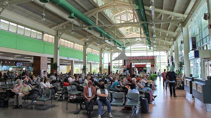 аэропорт ла романа зал ожидания