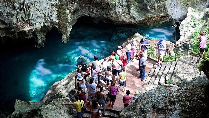 пещера три глаза в доминикане