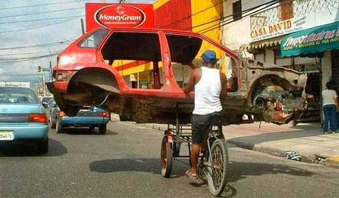 дорожное движение в доминикане