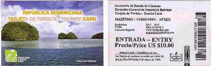 Туристическая Карточка В Доминикану Образец - фото 8