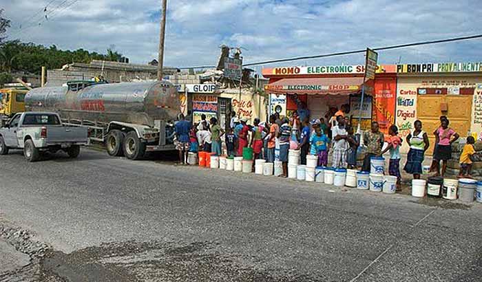 В доминикане опасно пить воду из-под крана