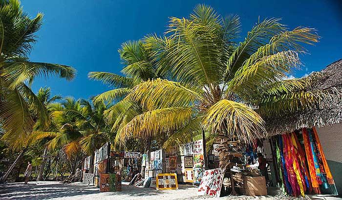 торговая лавка на острове каталина доминикана