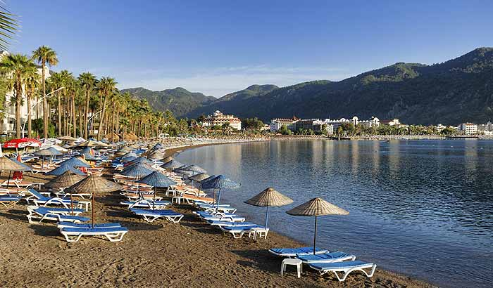 пляжи турции и доминиканы