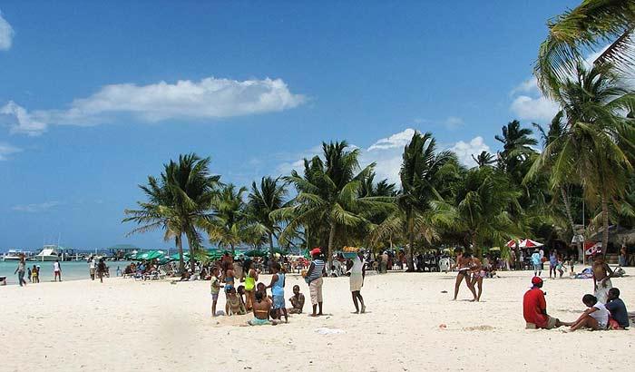 Пляж Бока Чика в Доминикане