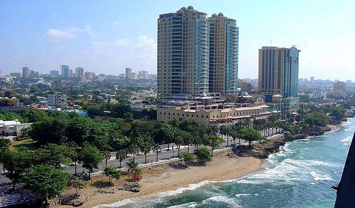 Санто-Доминго - столица Доминиканской Республики