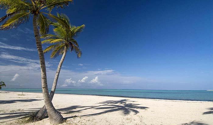 Белоснежный пляж в Доминиканской республике