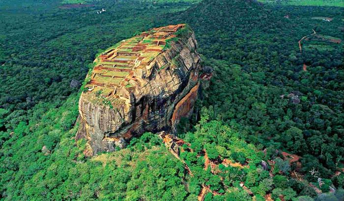Львиная крепость в Шри-Ланке