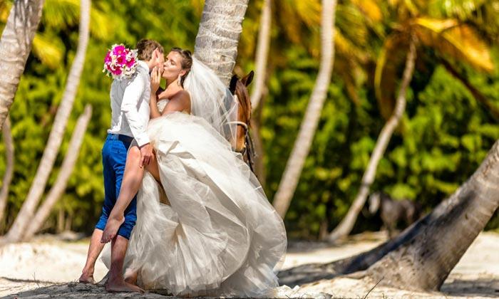 свадебной церемонии в Доминиканской республике