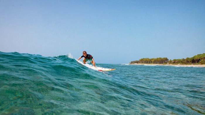 Серфинг в Доминиканской республике в январе